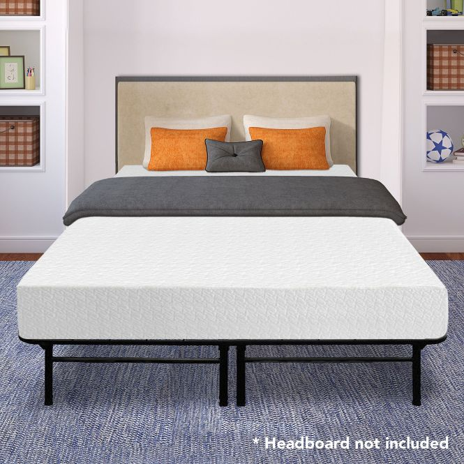 Best Price Mattress 10 Memory Foam And 14 Premium Steel Bed Frame