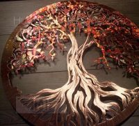 Tree Of Life (Pure Copper)   Metal tree, Copper wall and ...