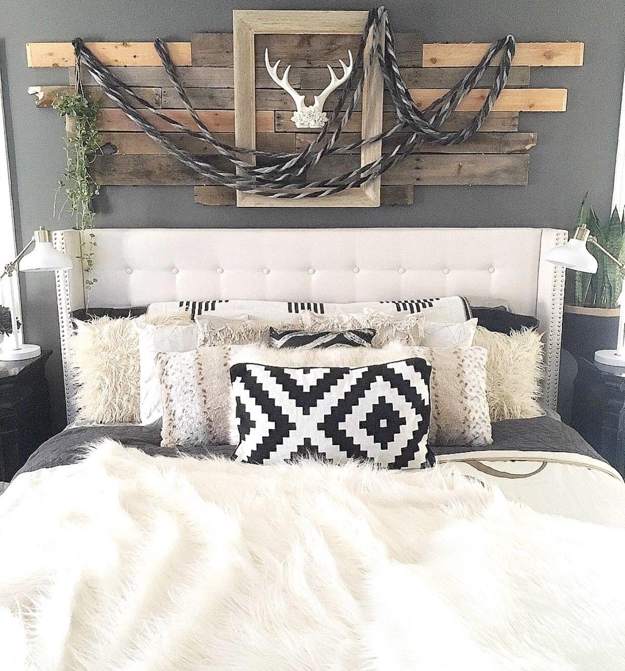 Rustic Boho Chic Master Bedroom