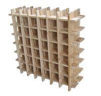 Build Your Own Wood Wine Rack - http://www.instylecebu.com ...