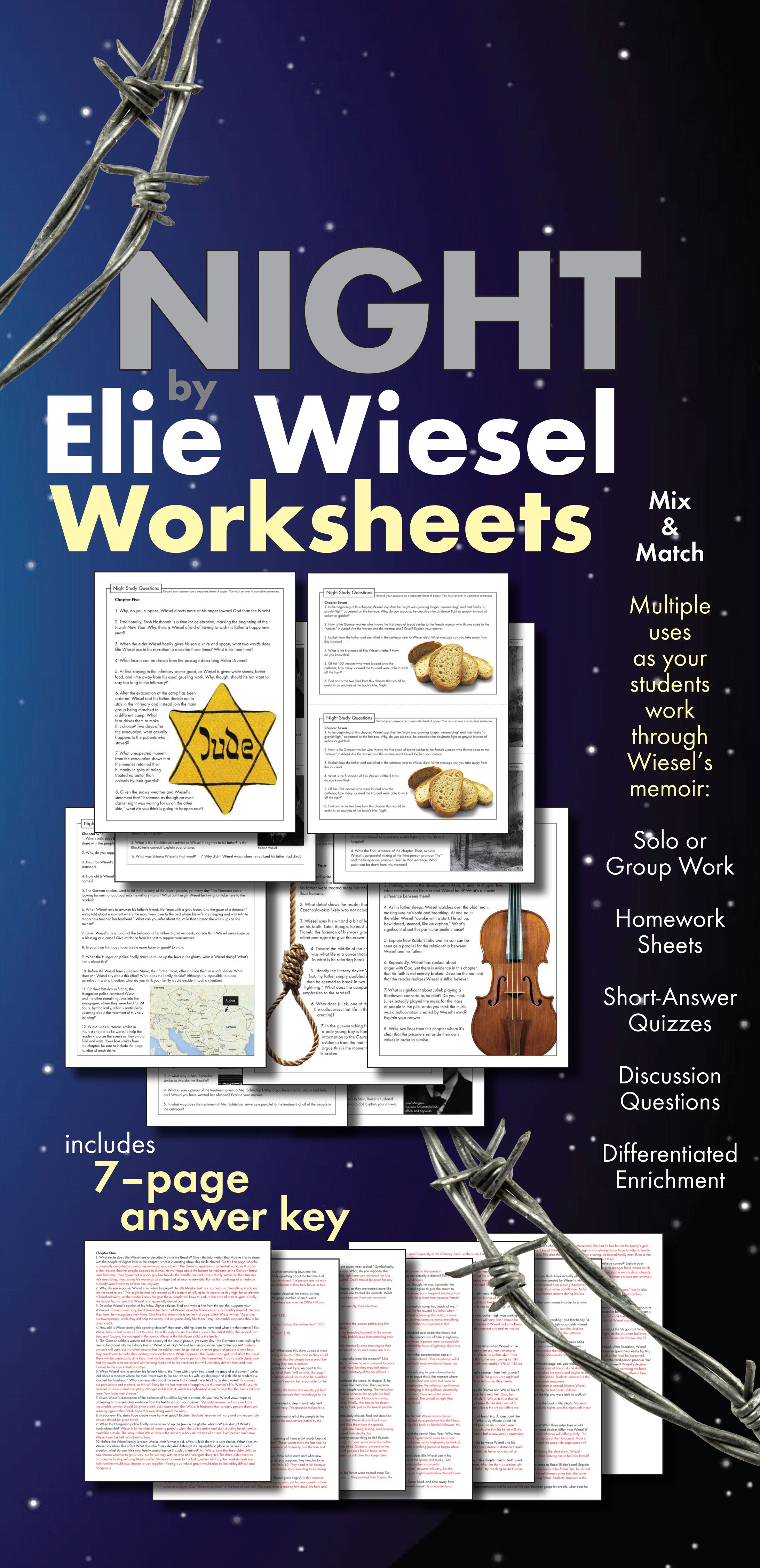 Symbols In Night By Elie Wiesel Symbols 03 06
