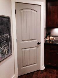 Painted pantry door - pavestone by Sherwin Williams | My ...