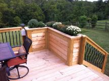 Diy Deck Planter Home Sweet