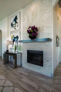 Gehan Homes Laurel Fireplace Grey stone fireplace, floor ...