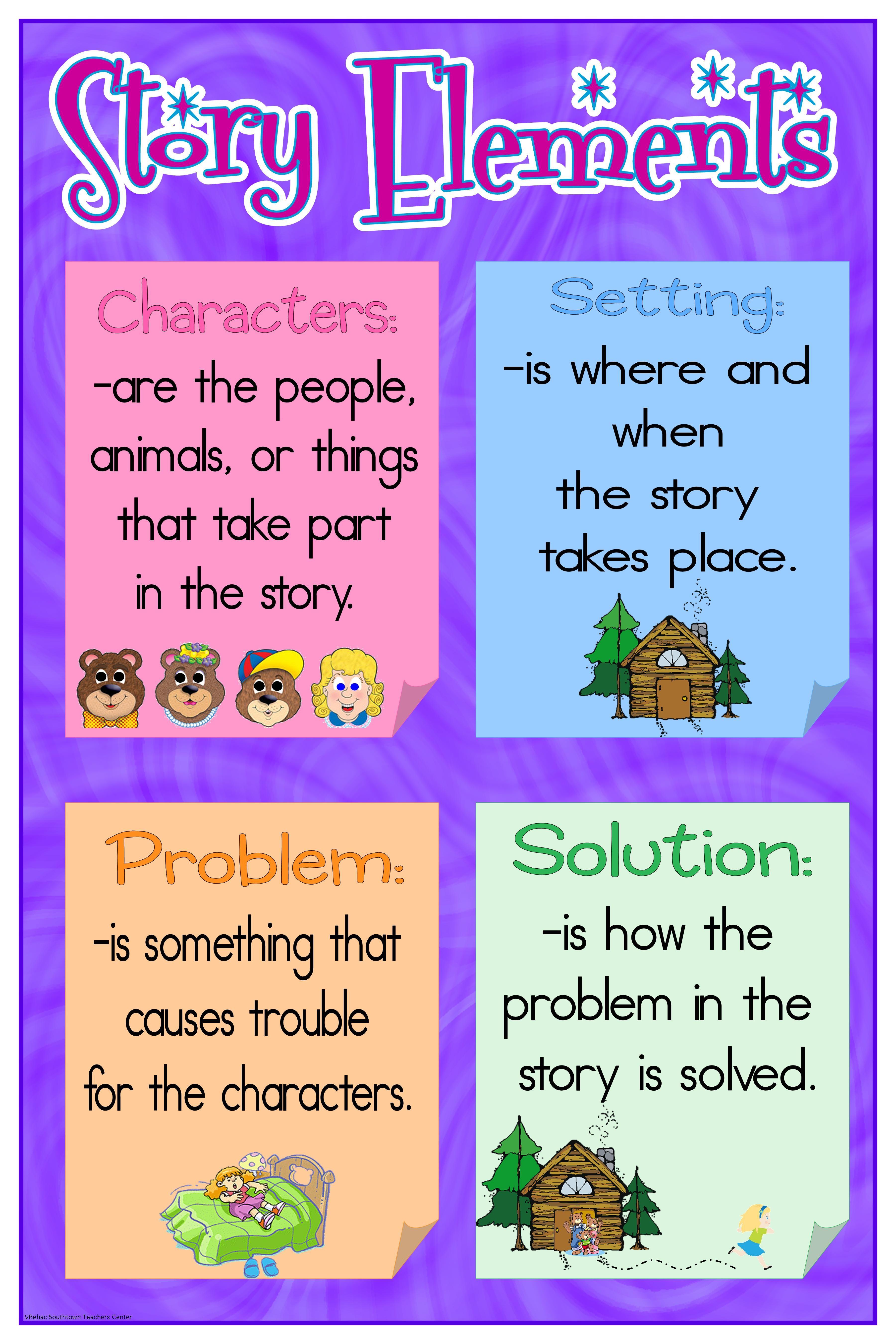 Story Elements Using Goldilocks And The Three Bears