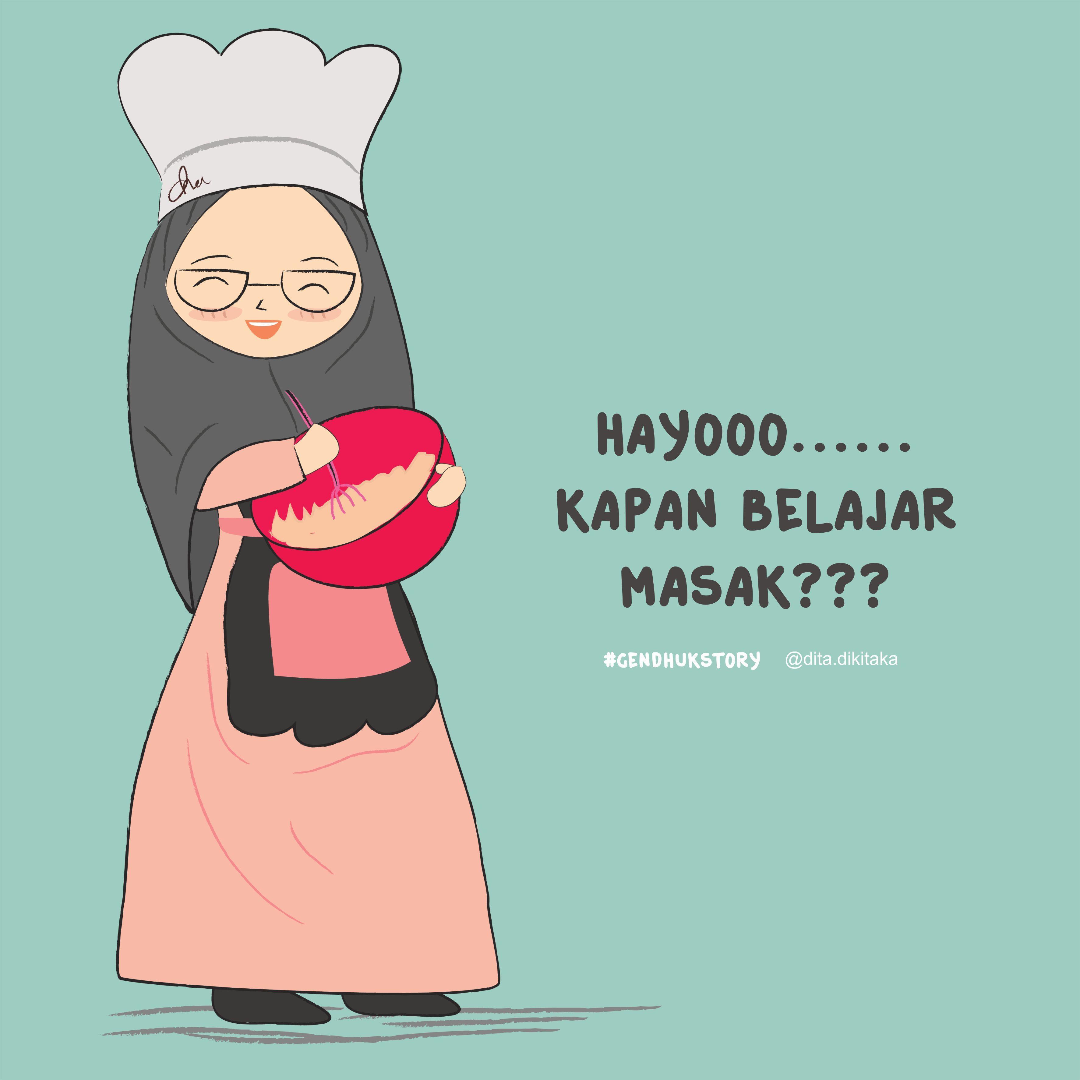 Top Kartun Muslimah Jofisa 2019  Gambarcarton