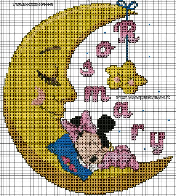 20 Baby Mickey Mouse Cross Stitch Pictures And Ideas On Weric