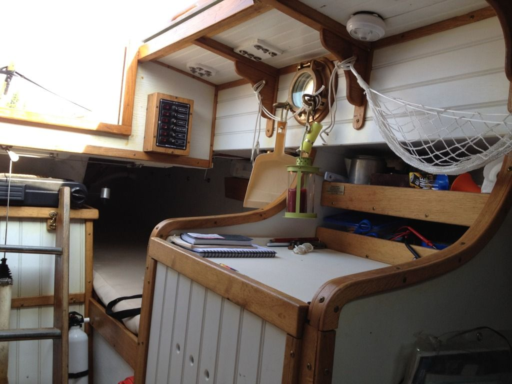 Show Me Your Sailboat's Interior