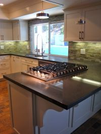 Tasty Kitchen Peninsula With Cooktop : Sherri Cassara