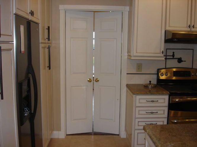 French Doors For Standard Size Door Use A Set Of Closet Bifold And Have Them Hung As Double Bathroom Ensuite To Bedroom Idea