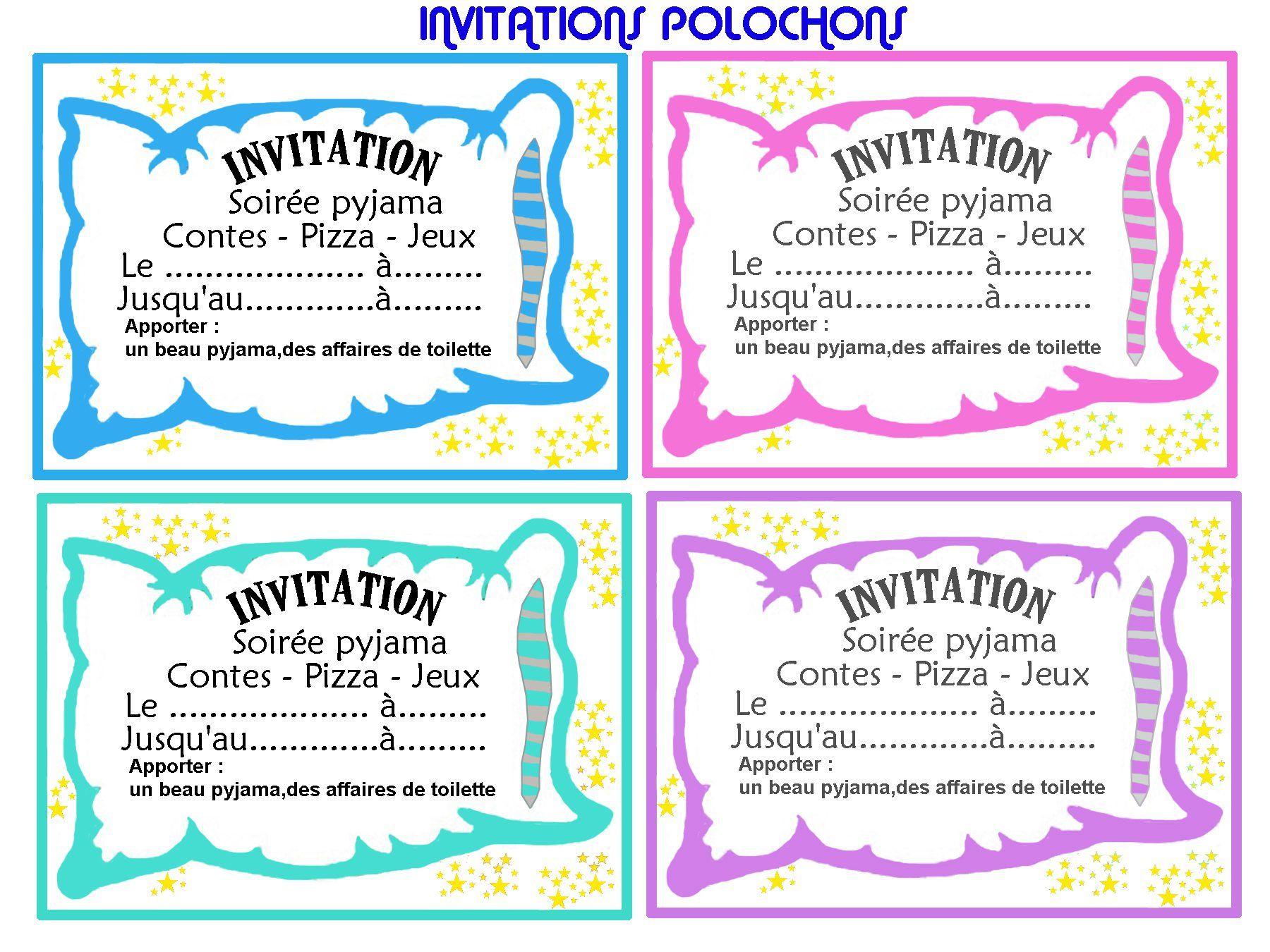 invitation gratuite a imprimer dessin