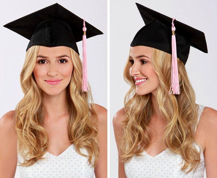 Graduation Cap Safe Hairstyles Grads Grad Cap And Photos