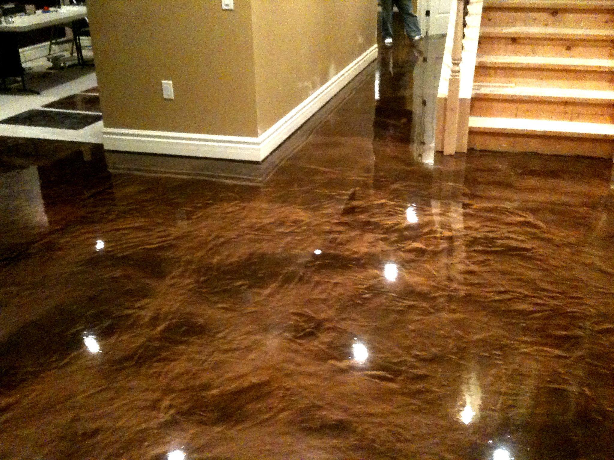 photos of concrete epoxy floors  coffee reflector epoxy