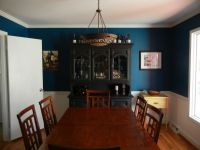 Teal Trance: My New Dining Room!   Teal dining rooms ...