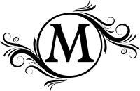 Free Monogram Letters | Monogram Initials Wall Decals ...