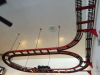 ceiling train - Google Search | Model Train Plans ...