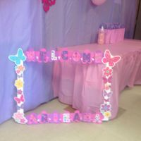 Giant picture frame for baby shower | Photo booth ...