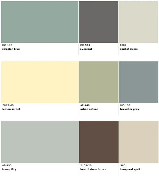 Popular Benjamin Moore Paint Colors For Beach House Decorating