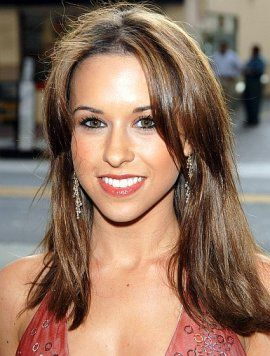 Celebrity Lacey Chabert Long Straight Layered Hairstyle Hair