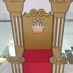 How To Make A Queen Throne Chair Gaming Under 100 Speech And Drama Props King Favorite Diy