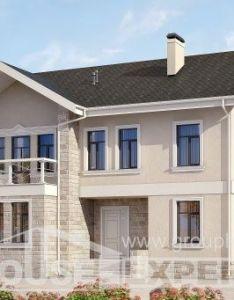 Two story house plans  simple models also  projekt domu dwukondygnacyjnego bud etowy dom podmiejski rh pinterest