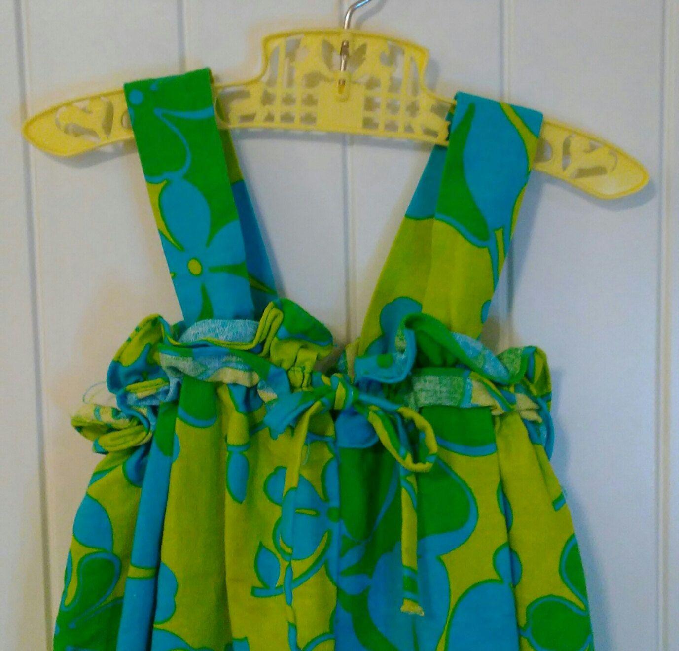 Vintage Little Girl S Hawaiian Dress