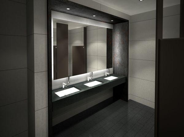 Public Commercial Bathroom Design