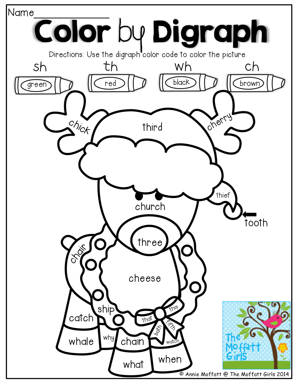 Color By Digraph Such A Fun And Effective Way To Work With Digraph Words