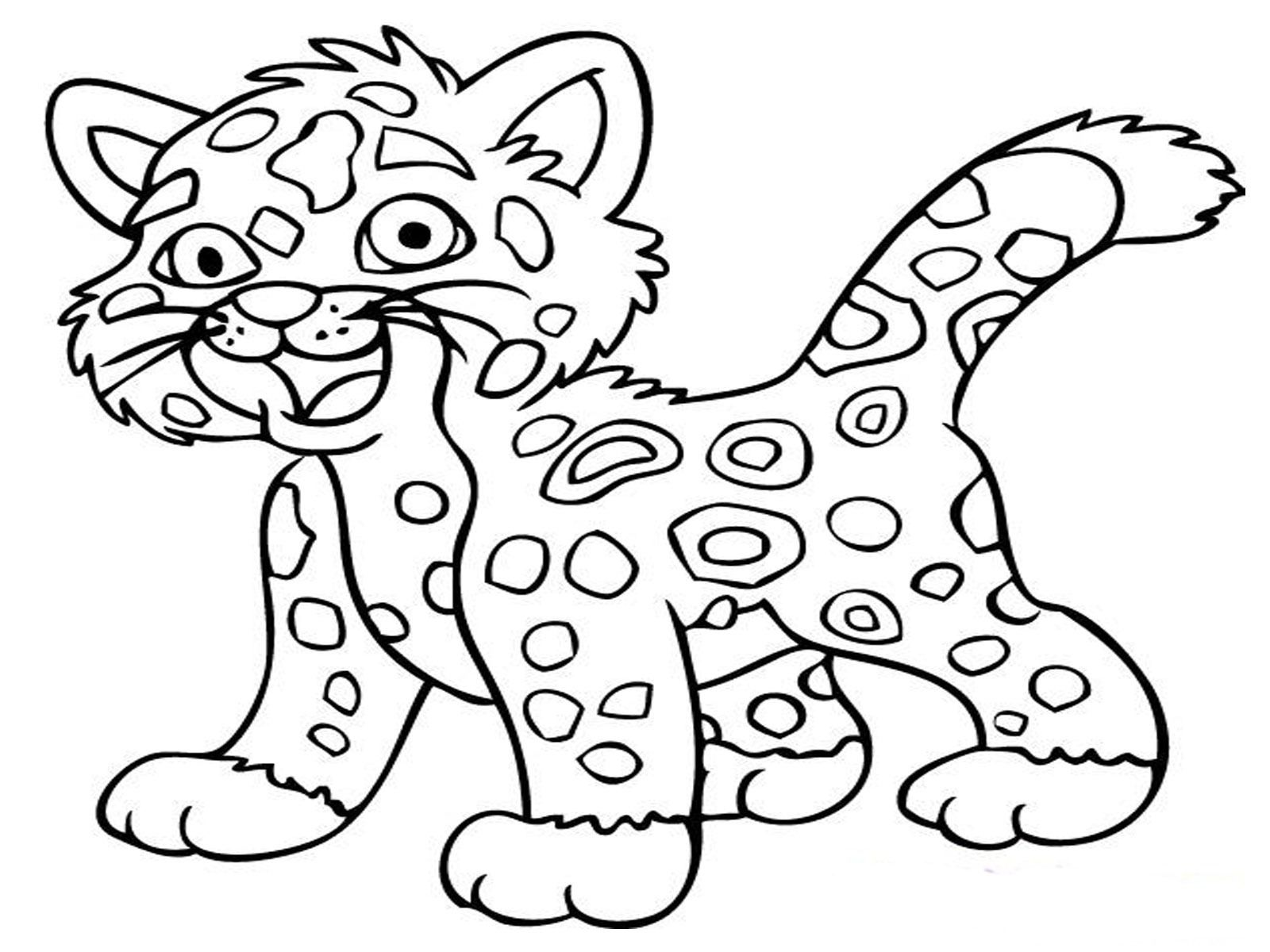 Coloringpages Of Animals