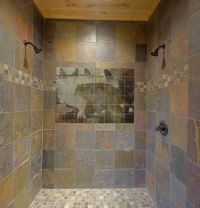 Slate Tile Accent Wall | Shower Tile Murals | Pacifica ...