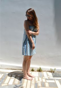 Wearing Frock ' Roll - Dimitria Summer Dress