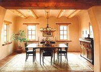 Southwest Style Decorating-A classic Dining Room with a ...
