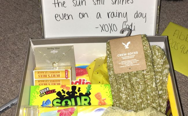 Care Package For Grieving Friend Good Idea Pinterest