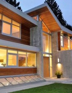 Garret cord werner have designed  contemporary forest house near vancouver canada the architecture  interiors of this new home design by also world  best photographs luxury pinterest rh