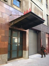 corten awning sign - Google Search   Office   Pinterest ...