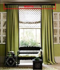 drapes for recessed bay window - Google Search   window ...