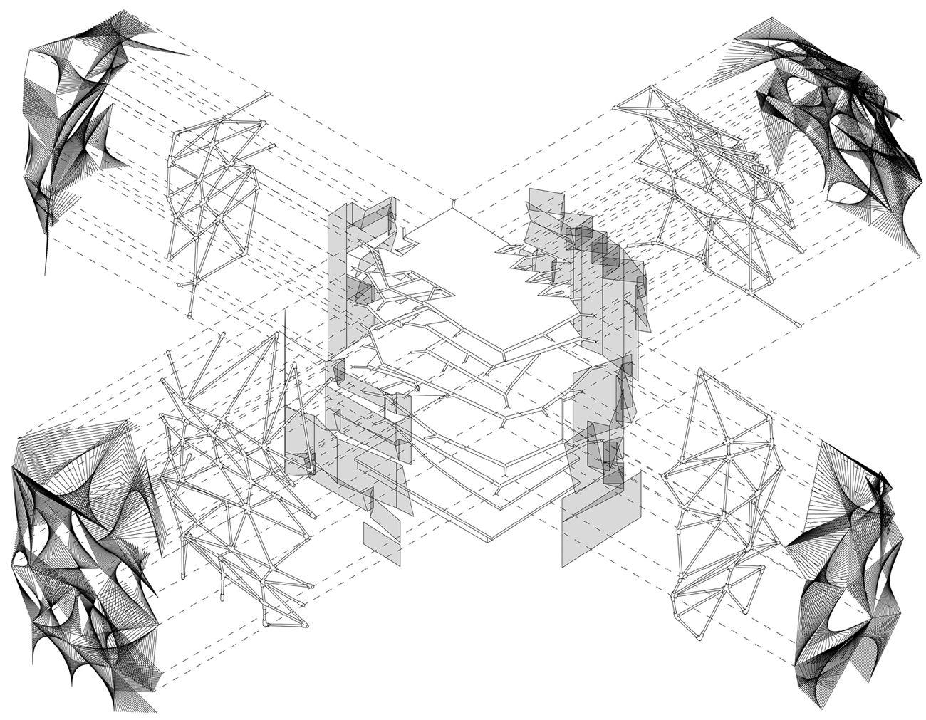 Vasilii Zhelezniakov Projects. Explosion. Diagram