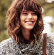 medium length hairstyles thick