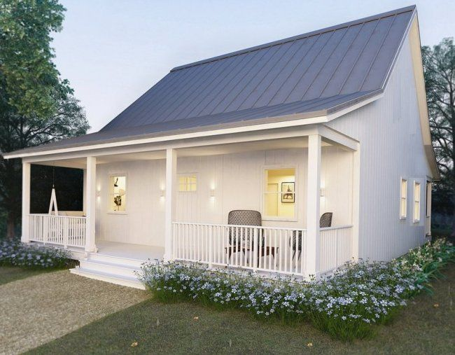 Small House Plan 60 Cottage Granny Flat 2 Bedroom Floor