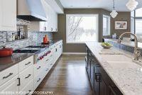 #RaisinandFig Kitchen Remodel - View of high end kitchen ...