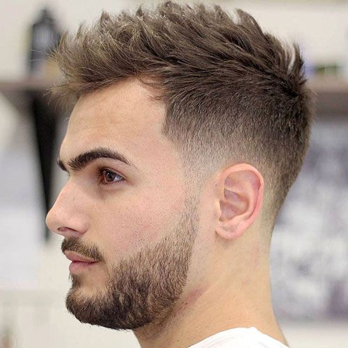 Short Hairstyles For Men Men's Fade Haircut Search And 2017