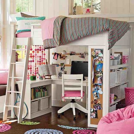 gir pink bedroom study loft bed design the amazing of loft beds for girls ideas for