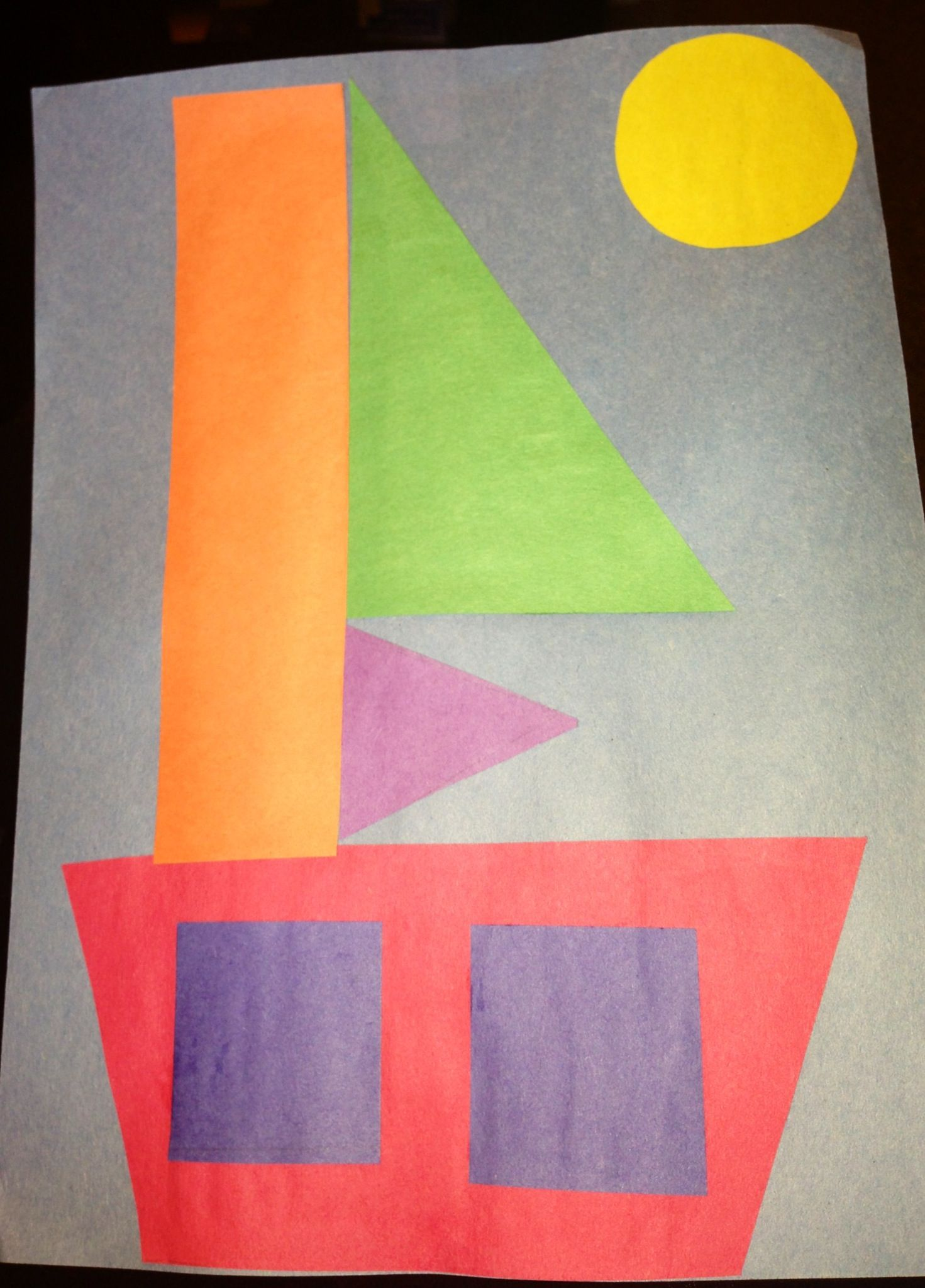 During Our Beach Theme We Made Sail Boats I Used This