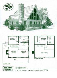 Log Home Floor Plans - Log Cabin Kits - Appalachian Log ...
