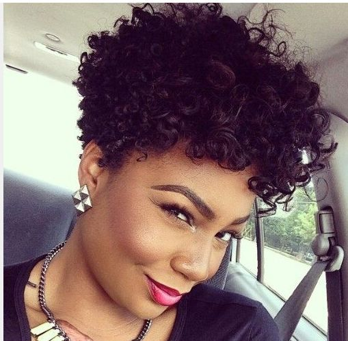 Short Natural Curly Hairstyles For Women CurlyHairstylesX Com