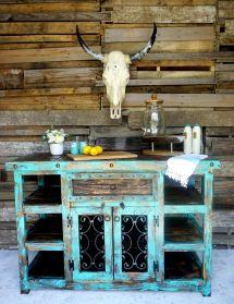 Rustic Outdoor Bar Furniture Ideas