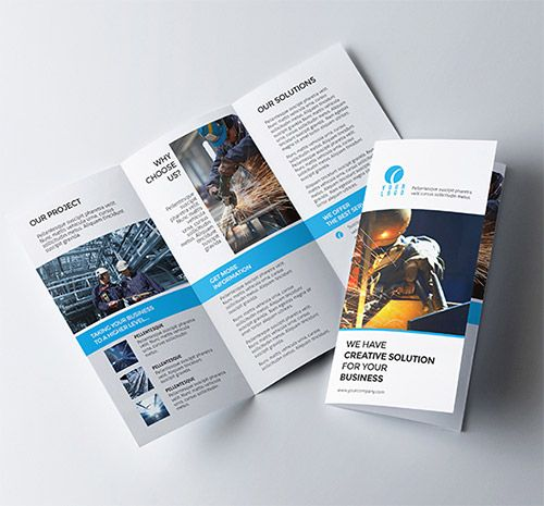 30 Creative Examples Of Tri Fold Brochure Designs Tri Fold