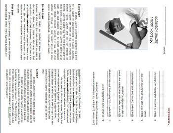 Jackie Robinson Preschool Worksheet. Jackie. Best Free