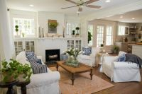 Fixer Upper Living Room - Get The Look! | Joanna gaines ...