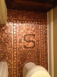 Finished product Penny floor complete with Family Initial ...